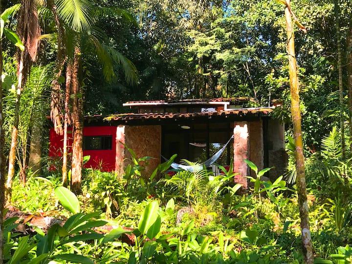 Linda residencia na Bela Natureza Cachoeira Azul