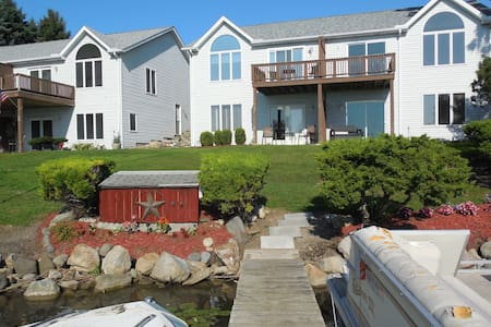 River Front, Two story duplex & boat dock