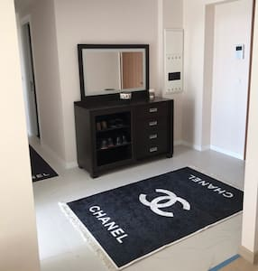 This the entry to the Apartmant