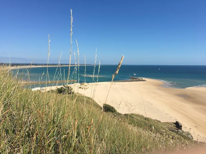 Gîte cosy au coeur des dunes du cap de Carteret