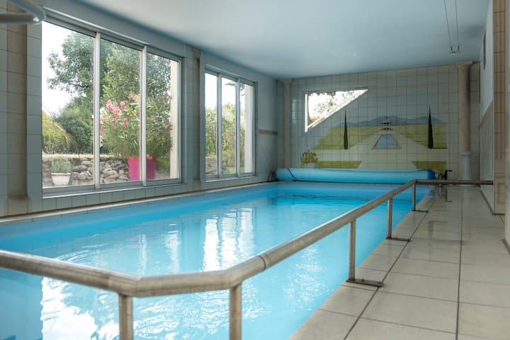 L'appartement de Sofia,piscine intérieure,terrasse