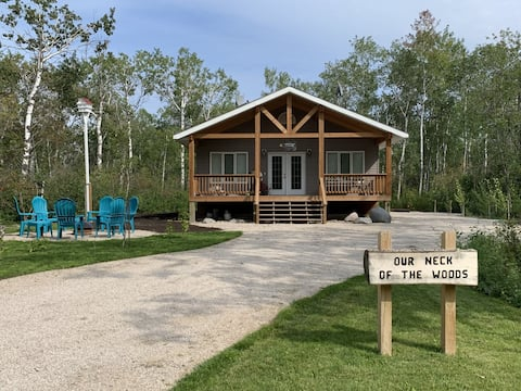 3 Bedroom 2 Bathroom New Cottage at Steep Rock, MB