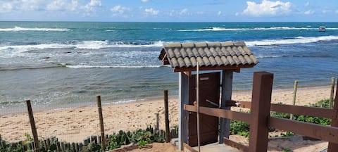 Casa 2 quartos à Beira-Mar com internet emArembepe