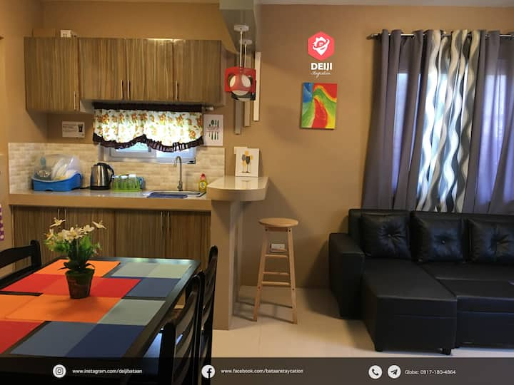 E1 - Cozy New 2BR Apt | w/ Parking | Balanga-Pilar