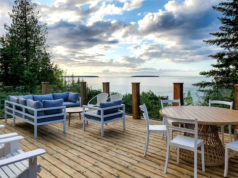 Luxury Waterfront Cottage in Tobermory