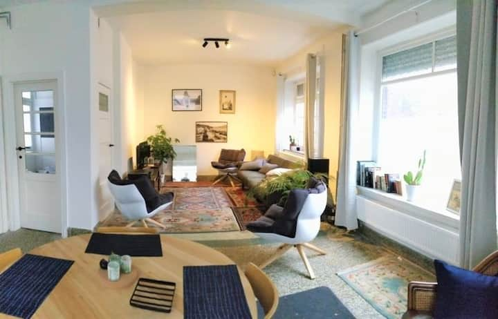 Peaceful apartment - near European District -