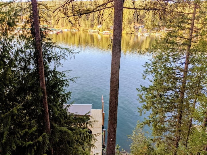 Entire Rockford Bay Lakehouse, private dock, views
