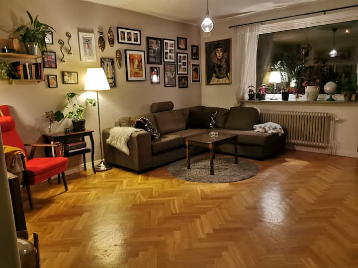 Cozy apartment 15 minutes from central Gothenburg