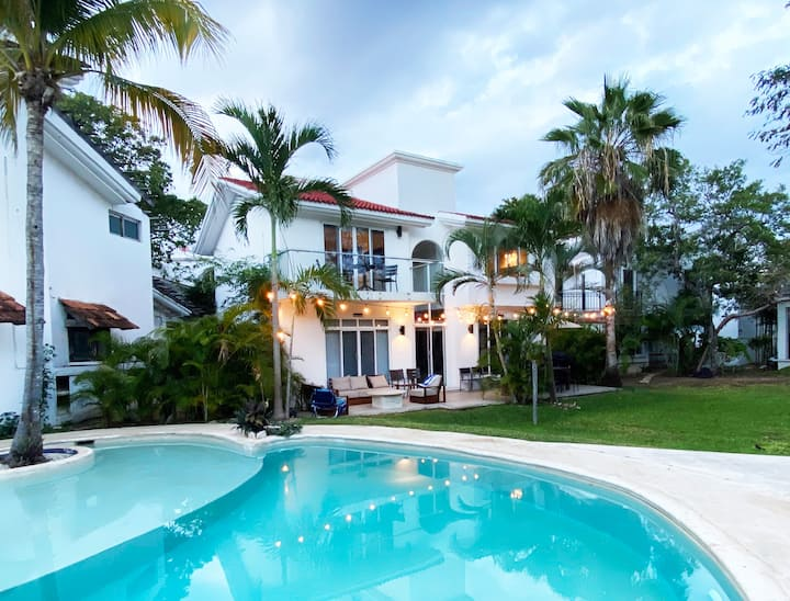 Drexel  luxury Villa in Playacar Playa Del Carmen
