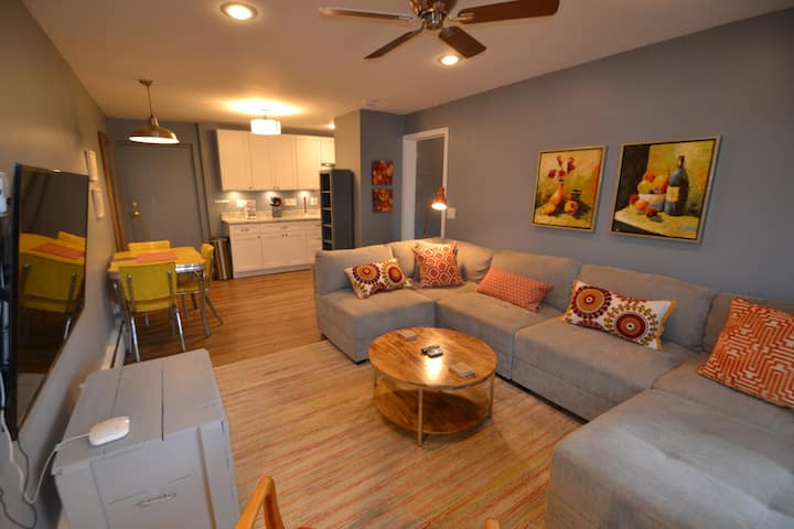 R-10 Furnished 1 BR - Central city location
