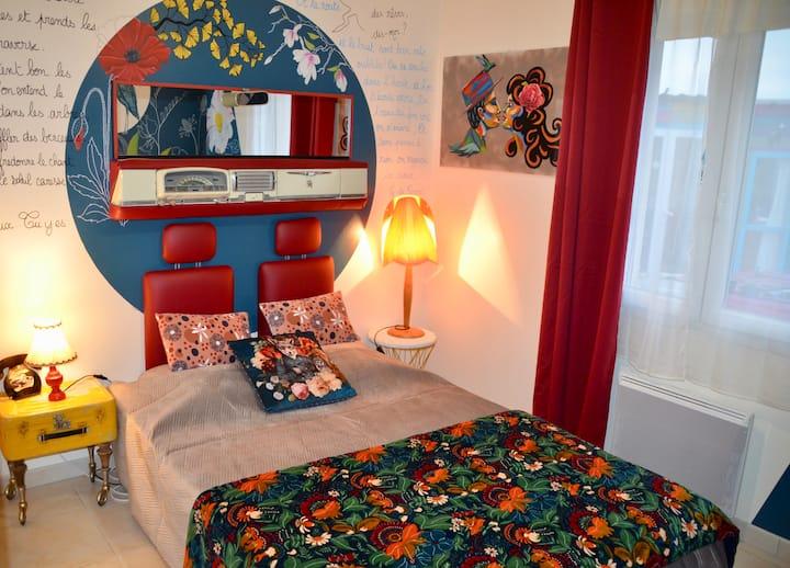 Chambre à 2 pas de La Rochelle