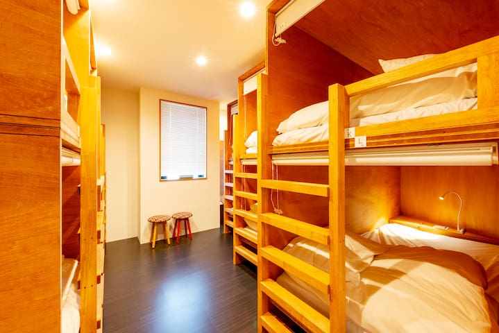 5 minutes walk from Asakusa Station! Mix dorm