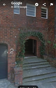 entry to apartment  block