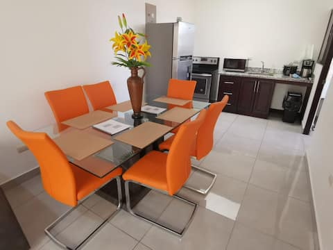 Bright, stylish apartment, 10MIN from airport SJO