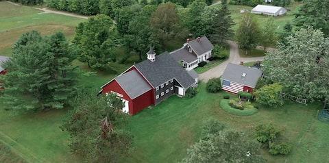 Bedårende gjestehus på 500 hektar gård