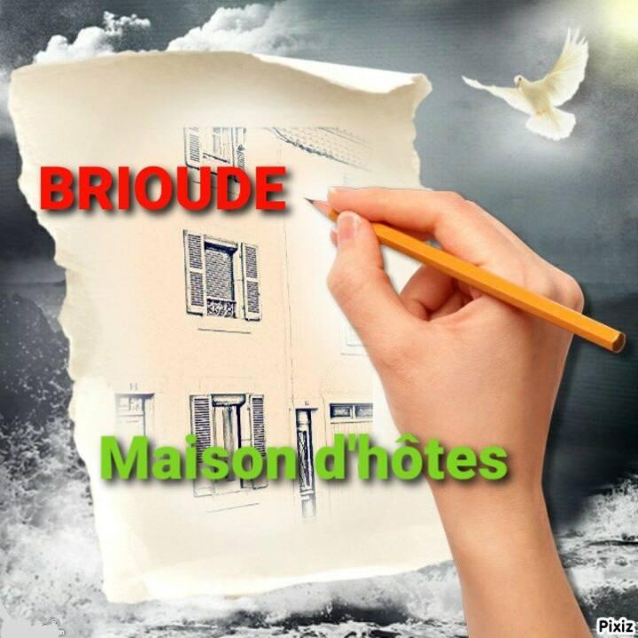 BRIOUDE ♦Grande Maison D'hôtes  Vintage  Wi-Fi