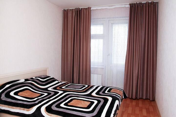 Уютная 3-к квартира в центре (мкр.Северный)