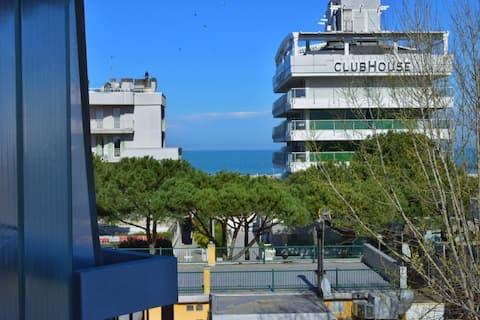 Elegant lokal jumpsuit i Rimini Marina Centro