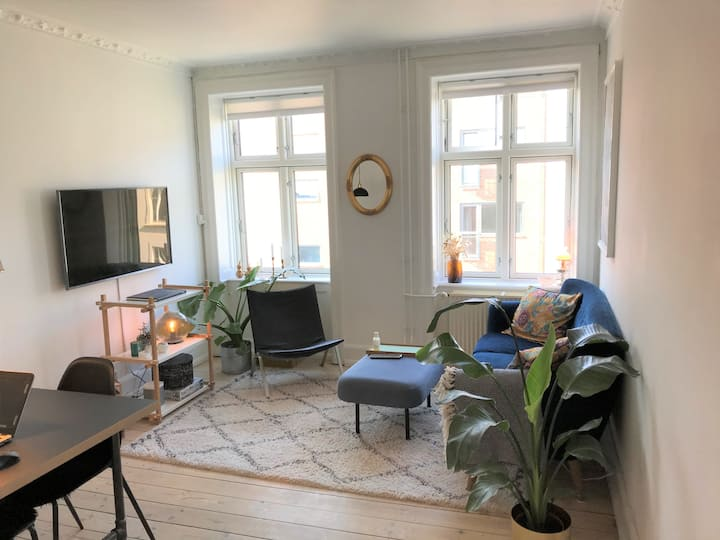 Apartment in the heart of trendy Vesterbro