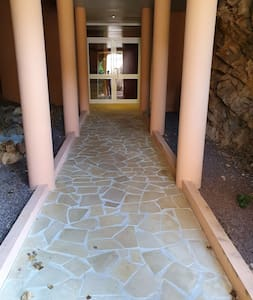 Pathway to main entrance