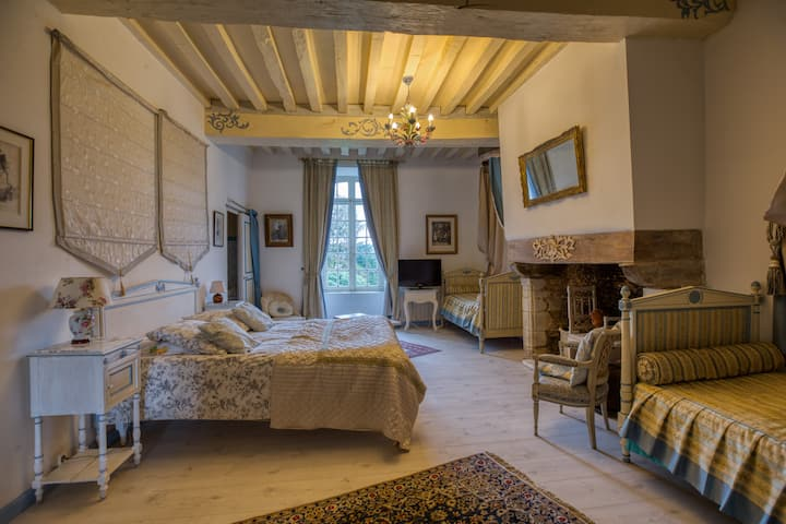 The blue titmouses suite