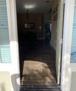 Front door Entry way 33 inches Wide