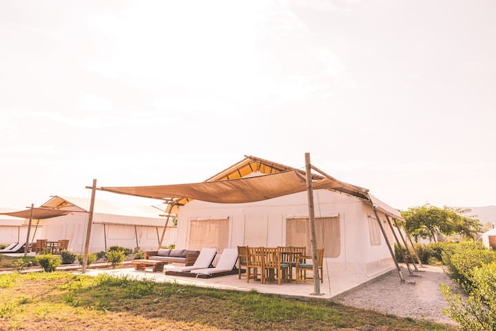 ||SAILS ON KOS|| Tented Villa *Free Breakfast*