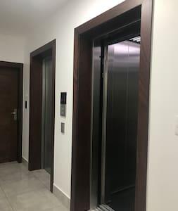 Entrada del ascensor