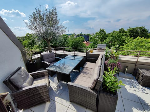 Beautiful 85 m² flat with roofterrace