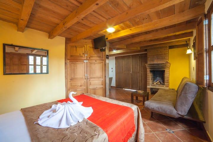 Cabañas y Suites Sergia Torres 1 Cama Matrimonial