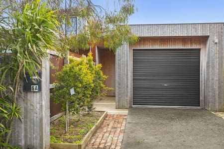 The front door is very wide and has no step to access the house. There is internal access from the garage however we have a small step from that door.