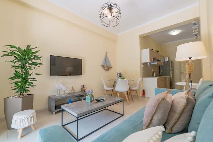 Luxe appartement midden in centrum