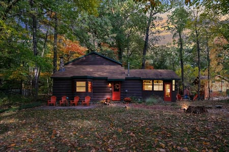 5 Bedrooms  in a forest to the beach, pet friendly