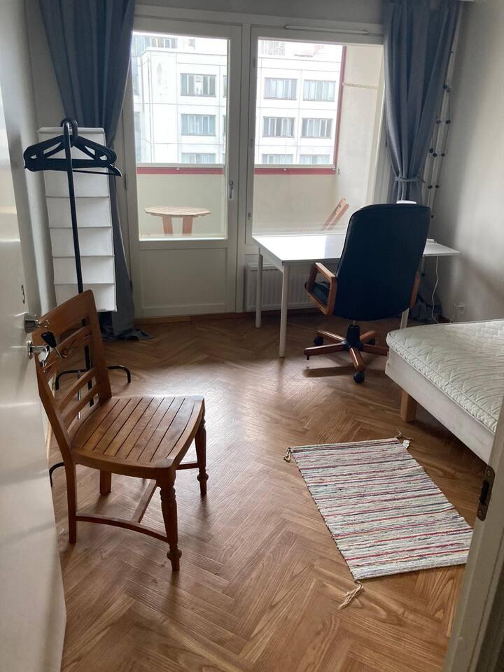 Room Jarrumiehenkatu 2-3,  furnished
