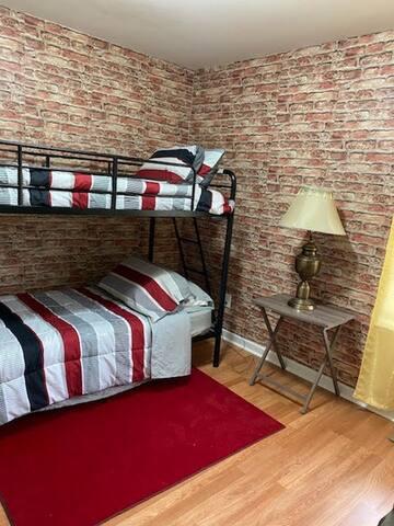 Bedroom # 1  Bunkbed