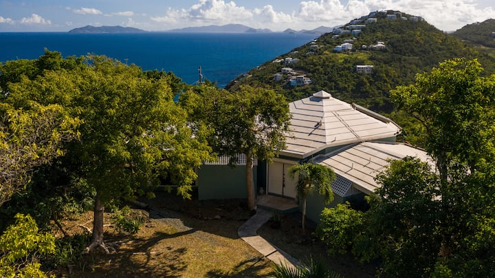 Villa at Chateau Nightwind w/ Amazing BVI Views