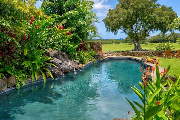 Ocean View - Full A/C- Heated Pool - Poipu Luxury