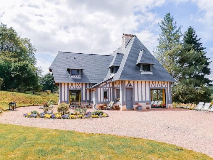 Magnifique maison avec piscine - Pays d'Auge