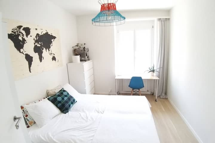 Super central cosy flat & amazing terrace!  74m2