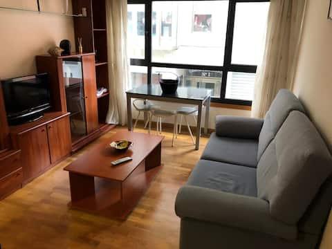 Mooi appartement voor koppels in Porto do Son