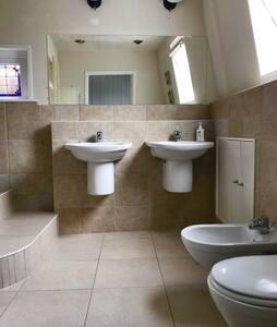Badkamer hoge drempels