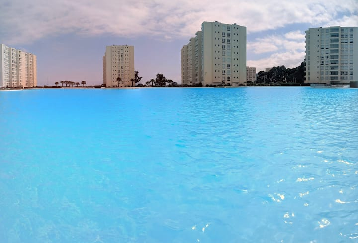 Papudo Laguna Precioso Depto 2 Dorm y 2 Baños