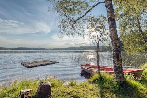 Lake cottage in de buurt van Isaberg