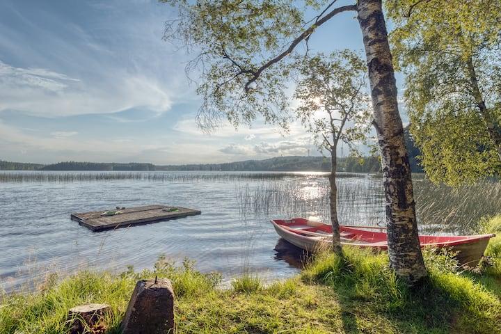 Lake cottage nearby Isaberg