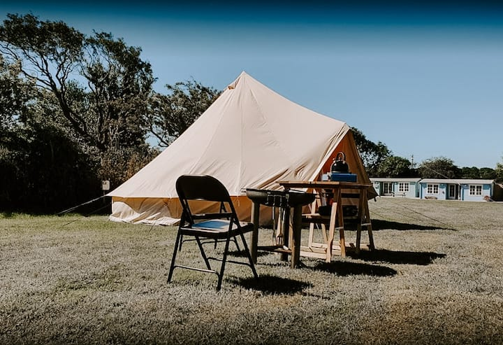 Luxury Glamping, book your pitch, we do the rest!