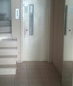 Široký vchod pro hosty