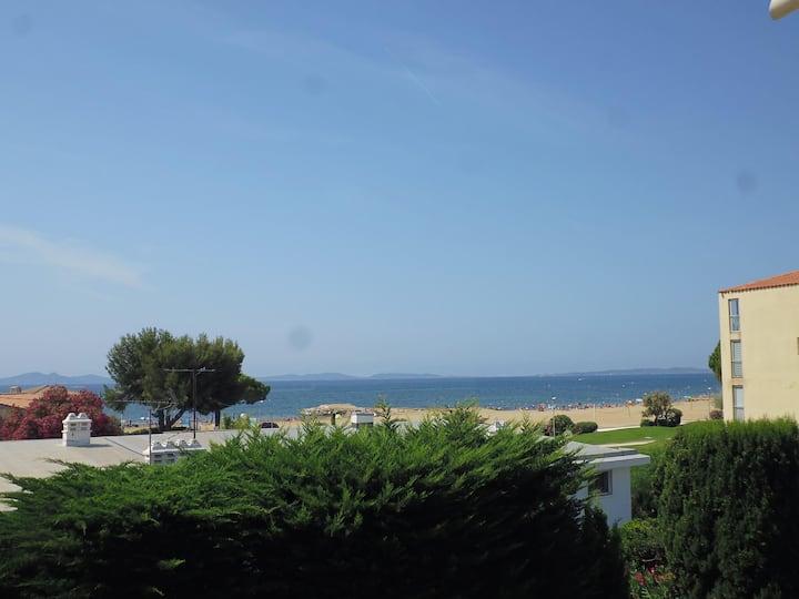 Appartement  belle vue mer, île de Porquerolle.