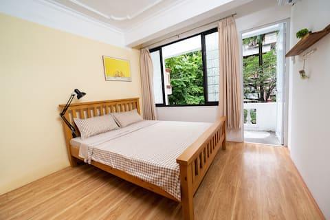 NEW RENOVATE - Private Room near HANU