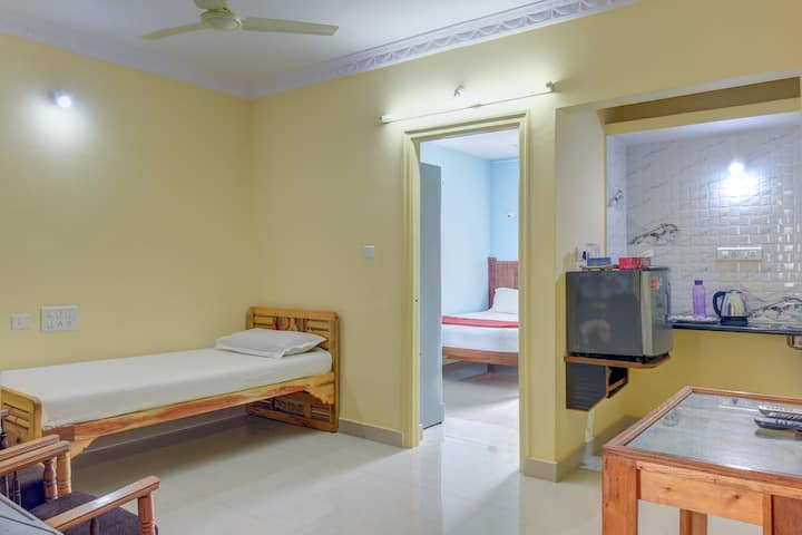 One Bedroom Apartment-bannerghatta road-Wifi-AC