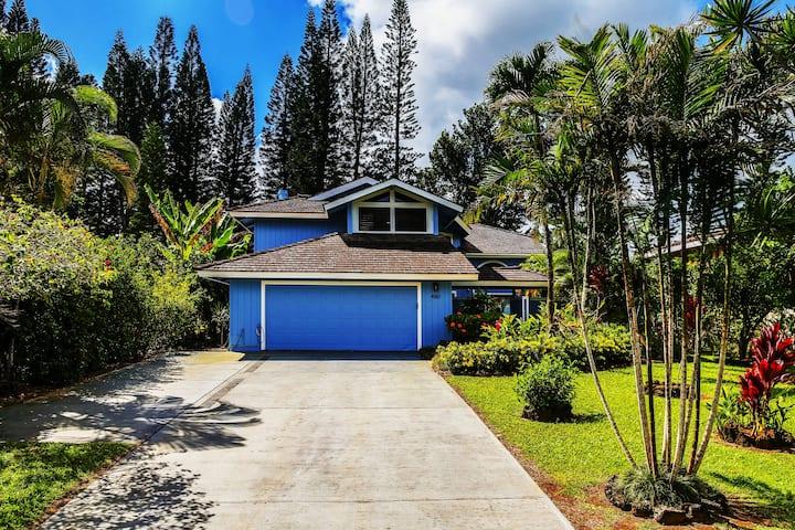 Blue Hawaii villa on Princeville golf course